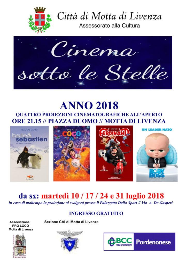 proposte culturali cinema_CAI MOTTA