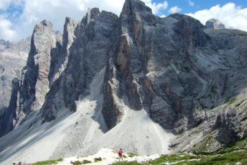 crode fiscaline - Dolomiti di Sesto - CAI MOTTA